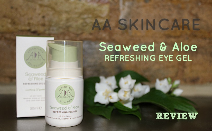 seaweed aloe eye gel