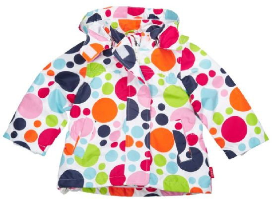Colourful coat from Name It. With this you child will not be overlooked when out and about.