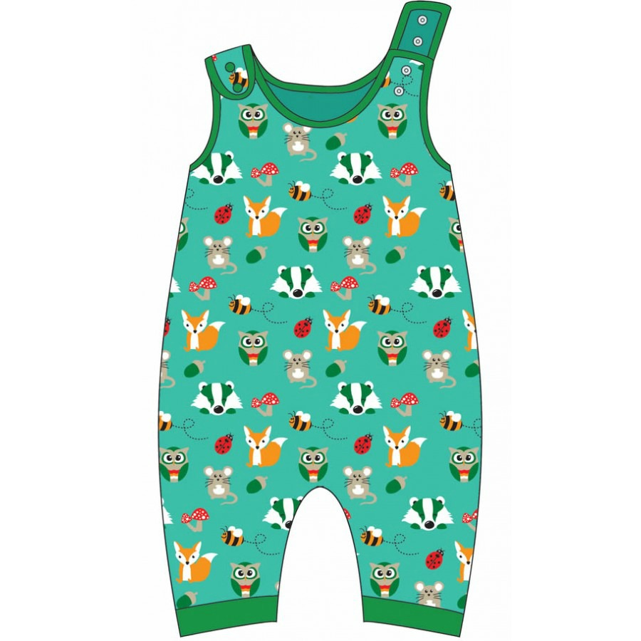 Fun, organic dungarees from new brand Gecko Clothing