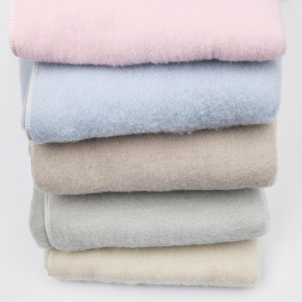 Soft, organic baby blankets from LANAcare