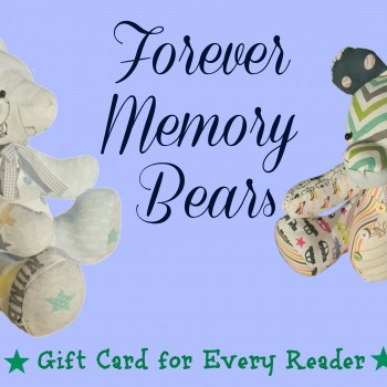 Adorable handmade memory bears from Forever Mememory Bears with £25 gift card for every reader