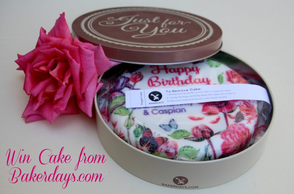 Win a letterbox cake from bakerdays.com