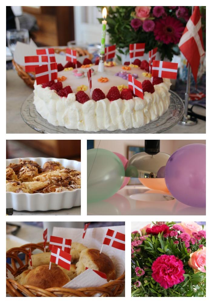 Danish birthday treats