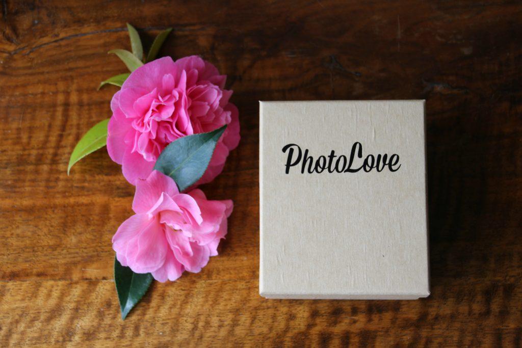 Prints come in a cute little box
