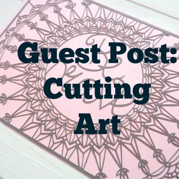 Read the guest post from Gemma Esprey, paper cutting artist over on the blog!