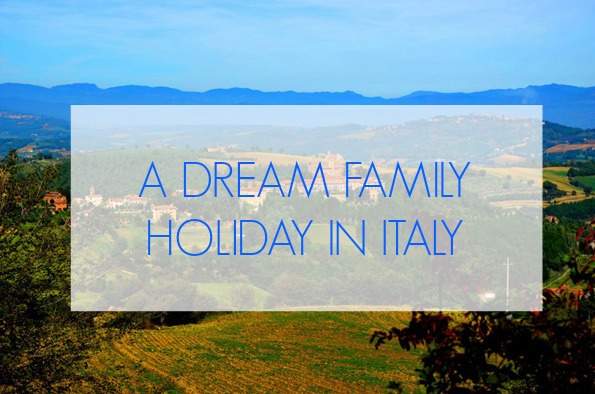 I'm dreaming of a family holiday at the beautiful Villa Pia in Italy