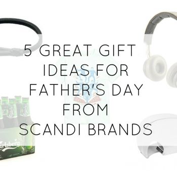 Looking for a gift for Father's Day? Take inspiration from some stylish Scandi brands in my latest guide.