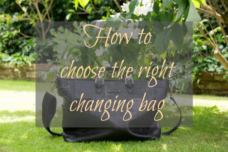 How to choose the right changing bag