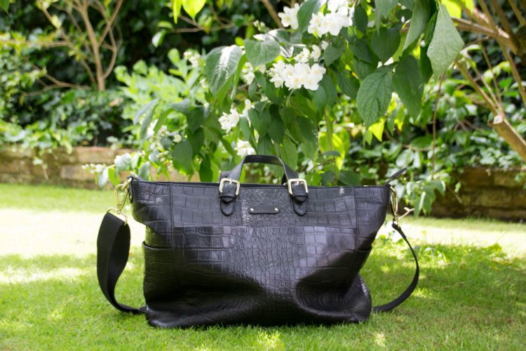 The gorgeous Francis from the A/W collection at KeriKit. Such a great changing bag that easily transforms into a normal bag.