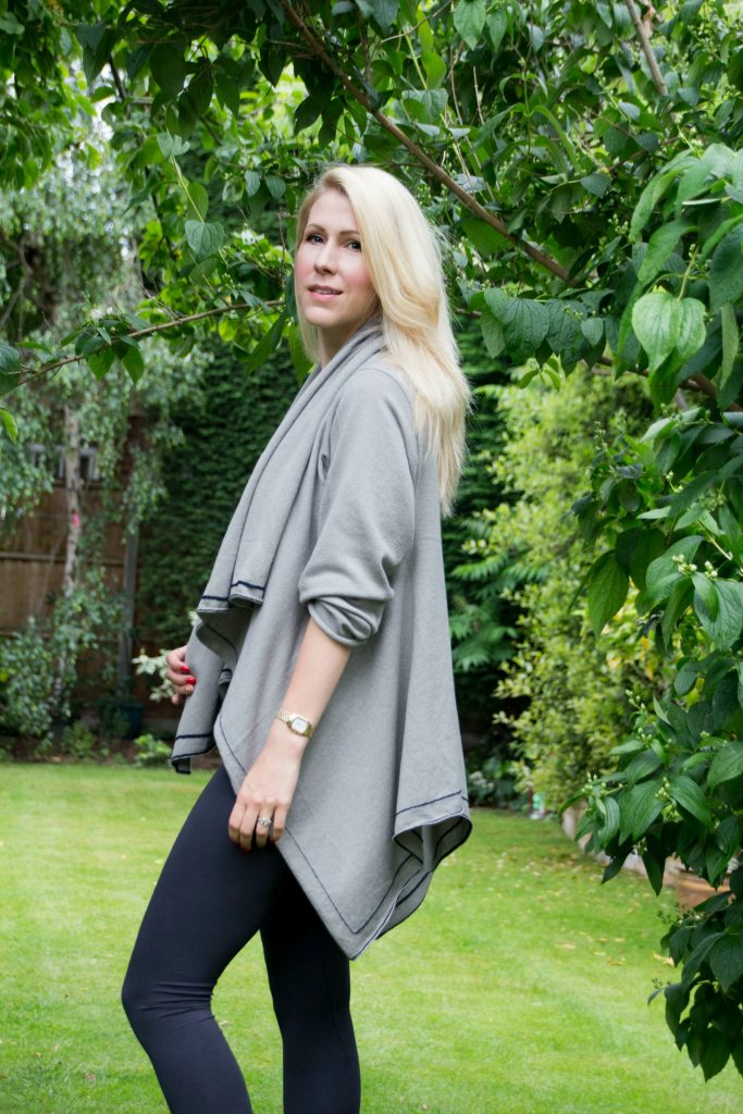 Gorgeous grey cardigan from new British brand LondonW11