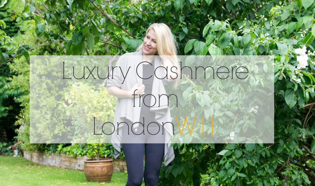 Looking for an investment piece for your wardrobe? Read my post on new cashmere brand LondonW11.