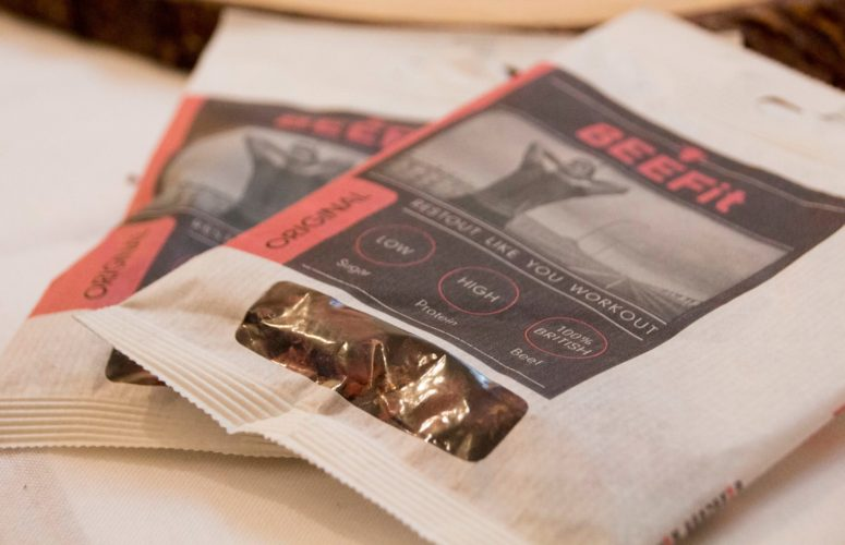 A great snack for protein from BEEFit