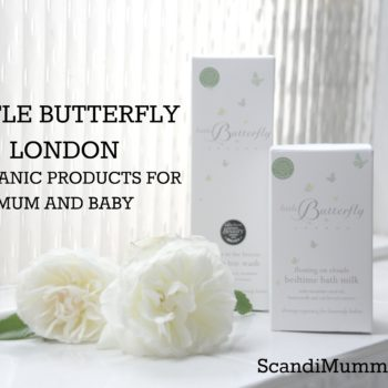 Organic bath products for mum and baby
