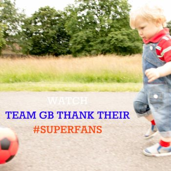 Watch the new Team GB #Superfans video