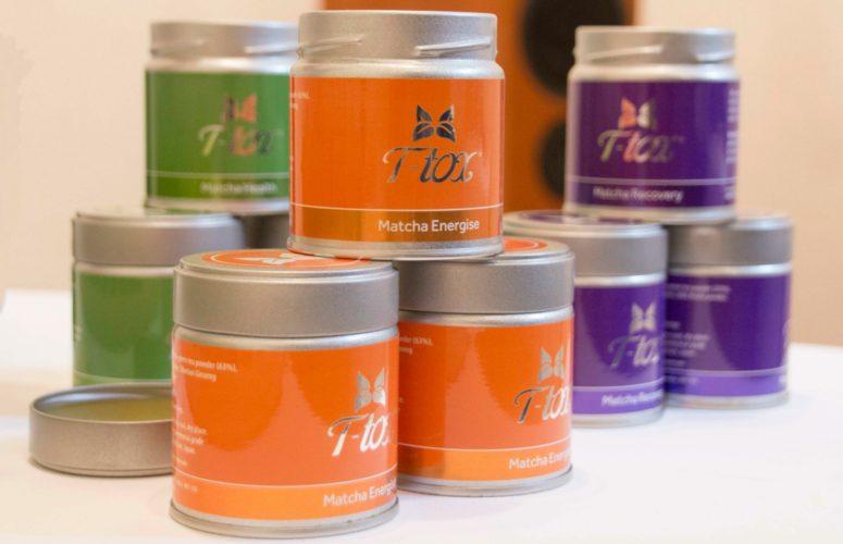 Matcha tea powder from T-tox.