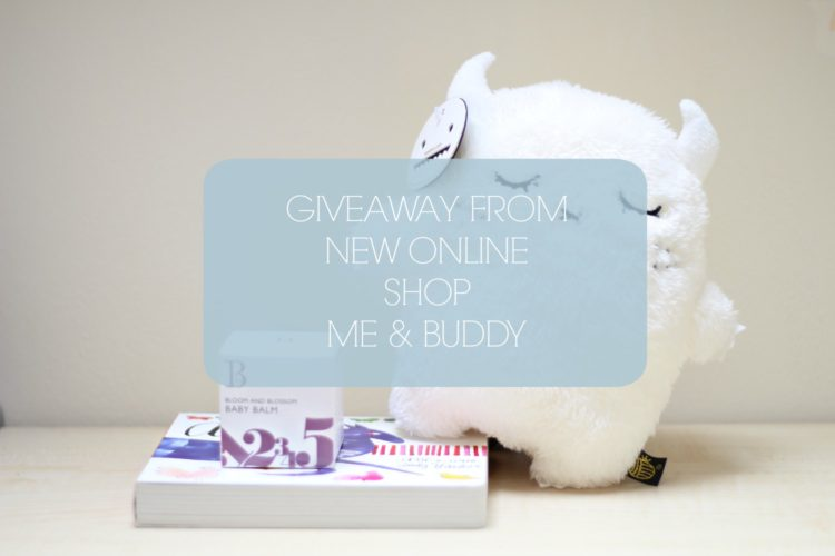 Win £50 to spend with Me & Buddy and a changing bag cluth