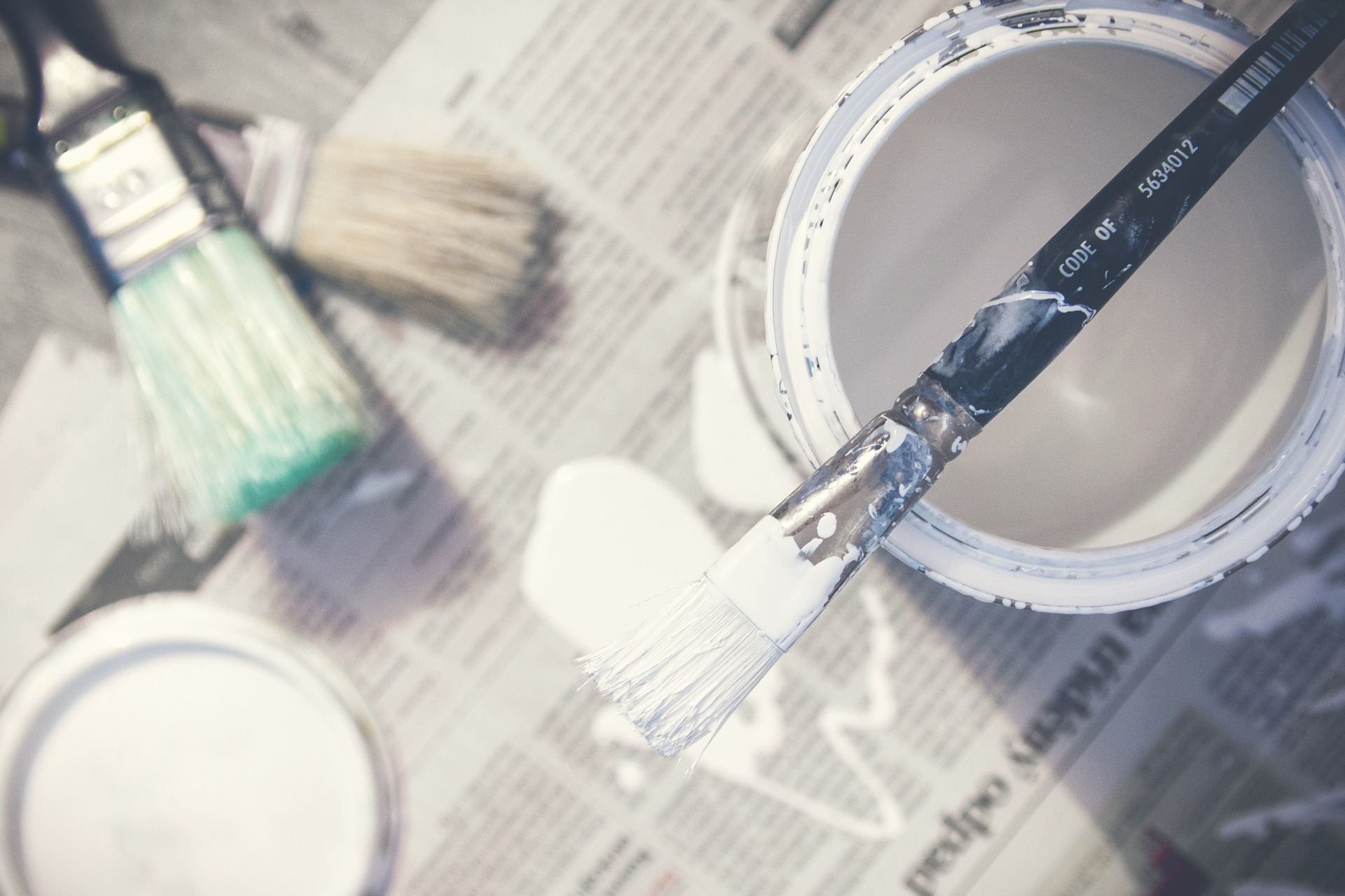 Use paint to update a room. That's one way to achieve affordable redecorating.