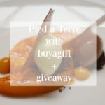 PIED à TERRE WITH BUYAGIFT + GIVEAWAY