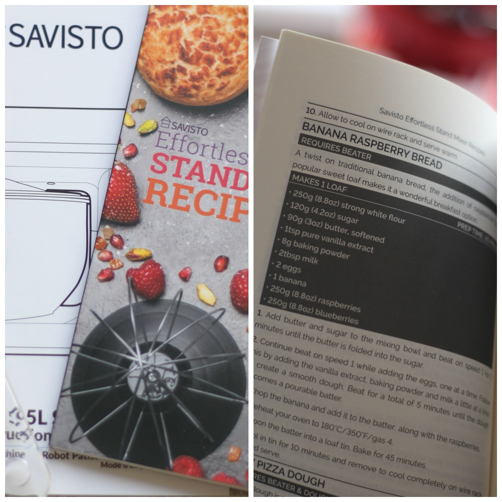 The savisto 3-in-1 food mixer comes with a great recipe book full of inspiration for your next dinner party.