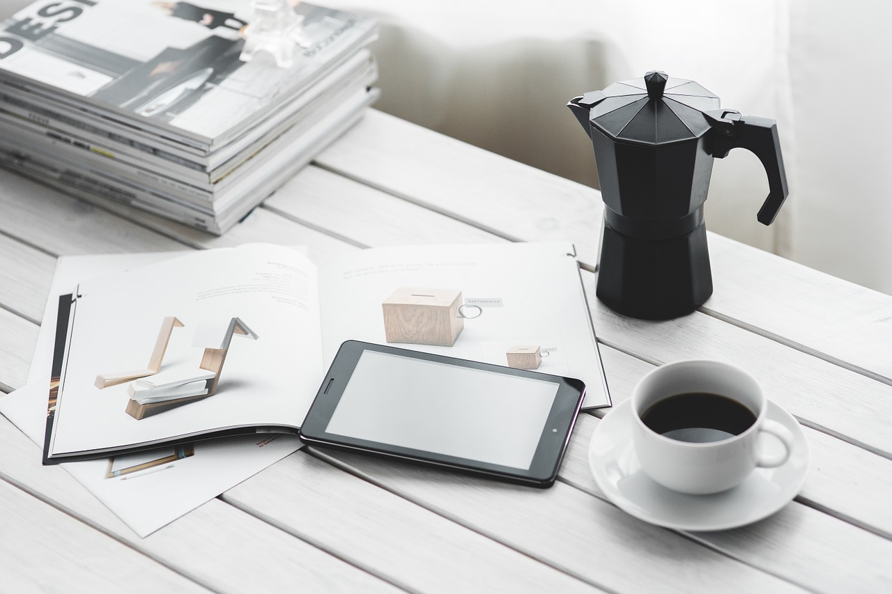 Bring a coffee into your home office