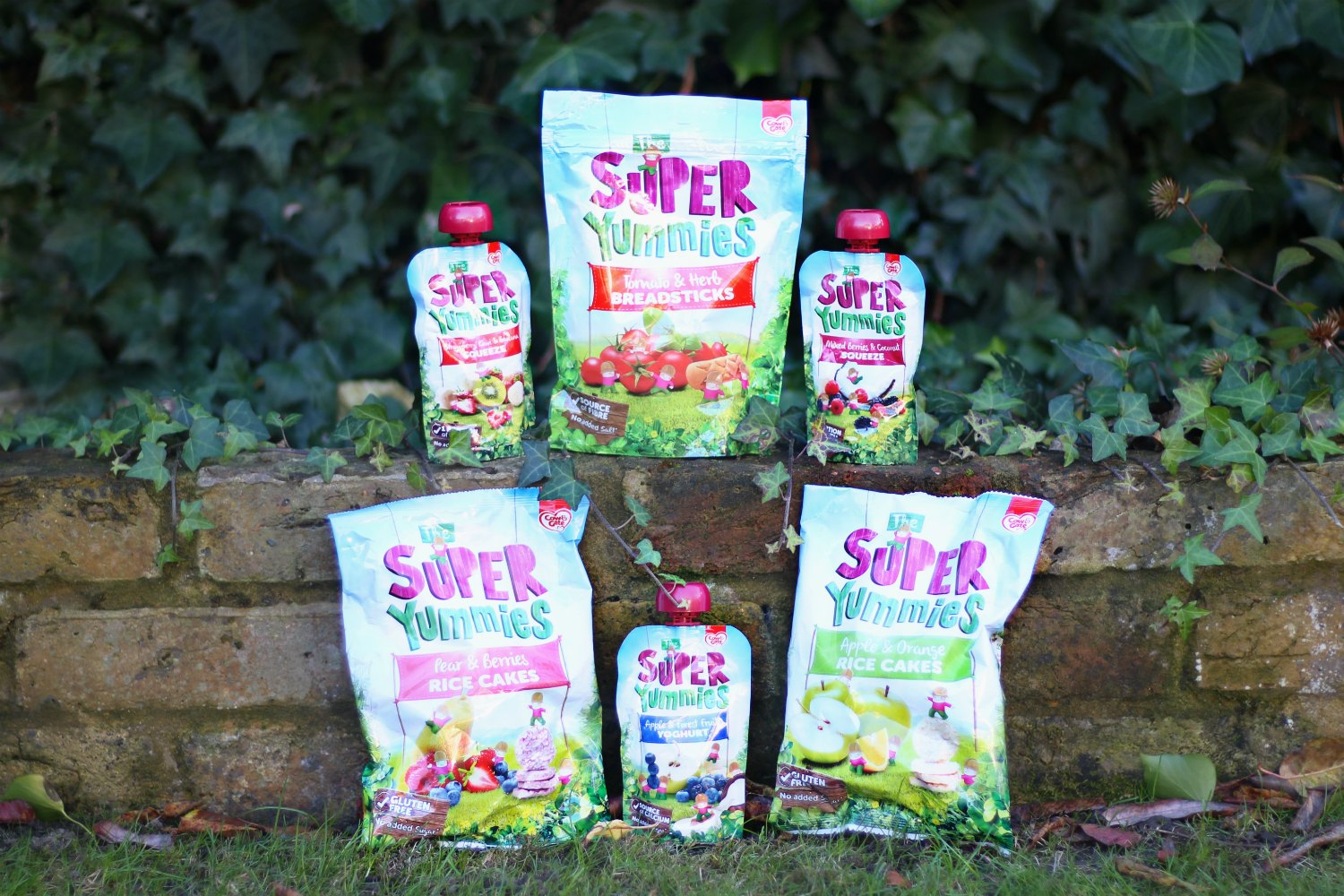 The Super Yummies range from Cow & Gate