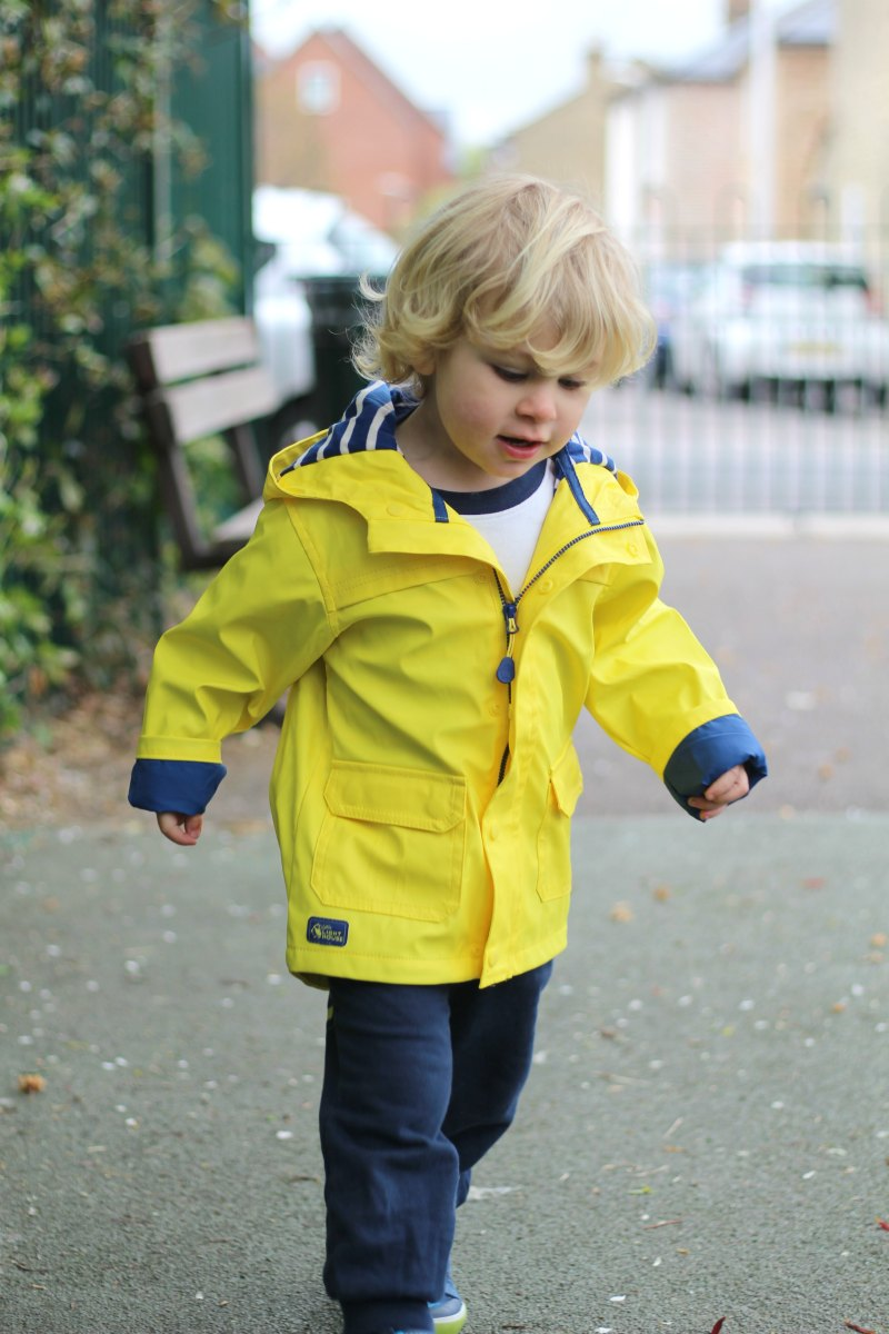 Sailor Rubber Rain Coat from Lighthouse