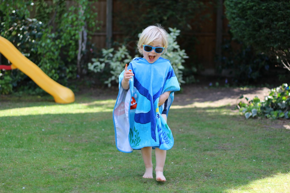 Poncho towel from Boots Mini Club