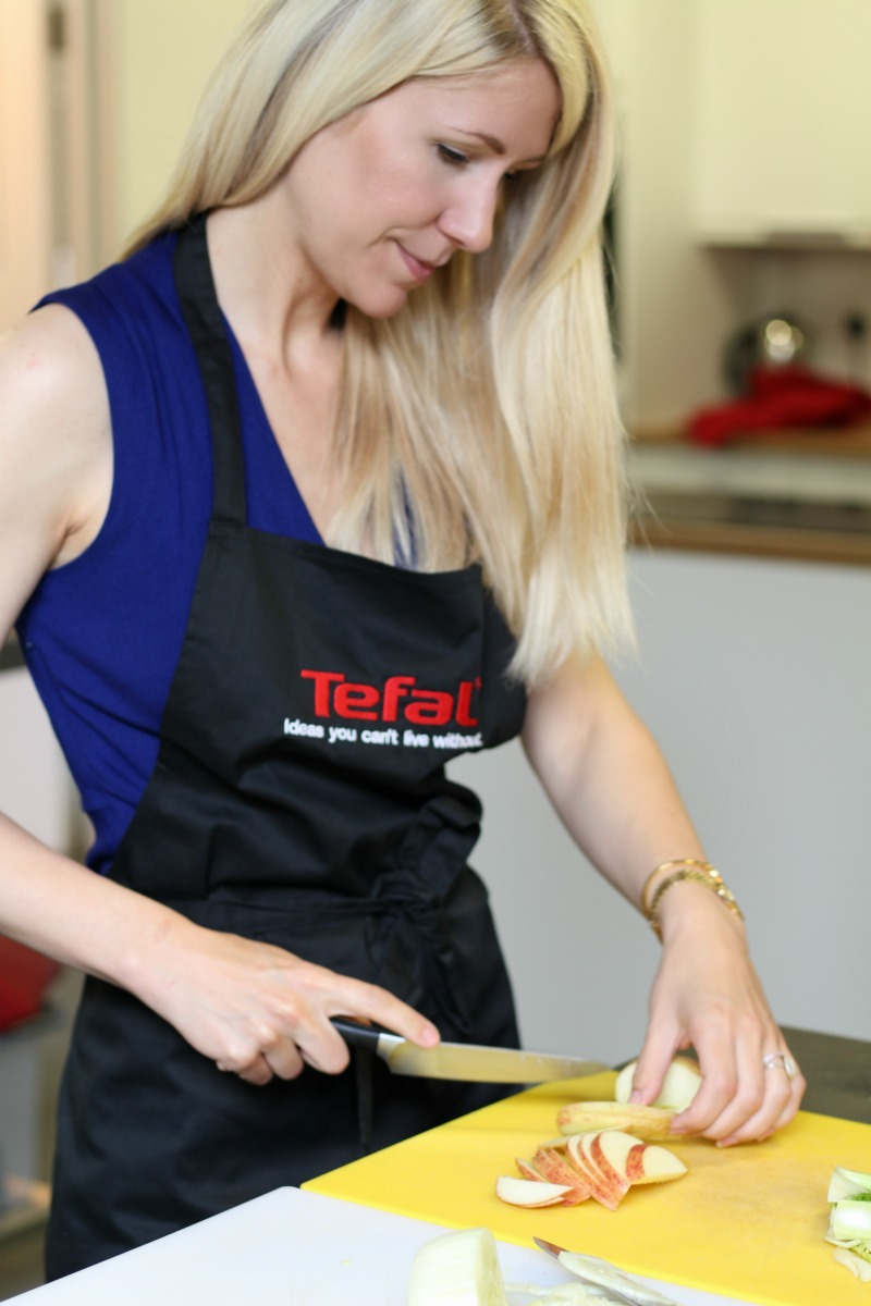 Scandi Mummy cooking with the Tefal Actifry