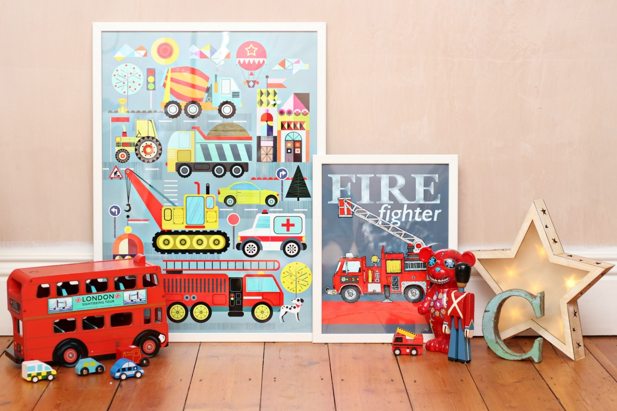 Nursery and children's room posters from Posterlounge