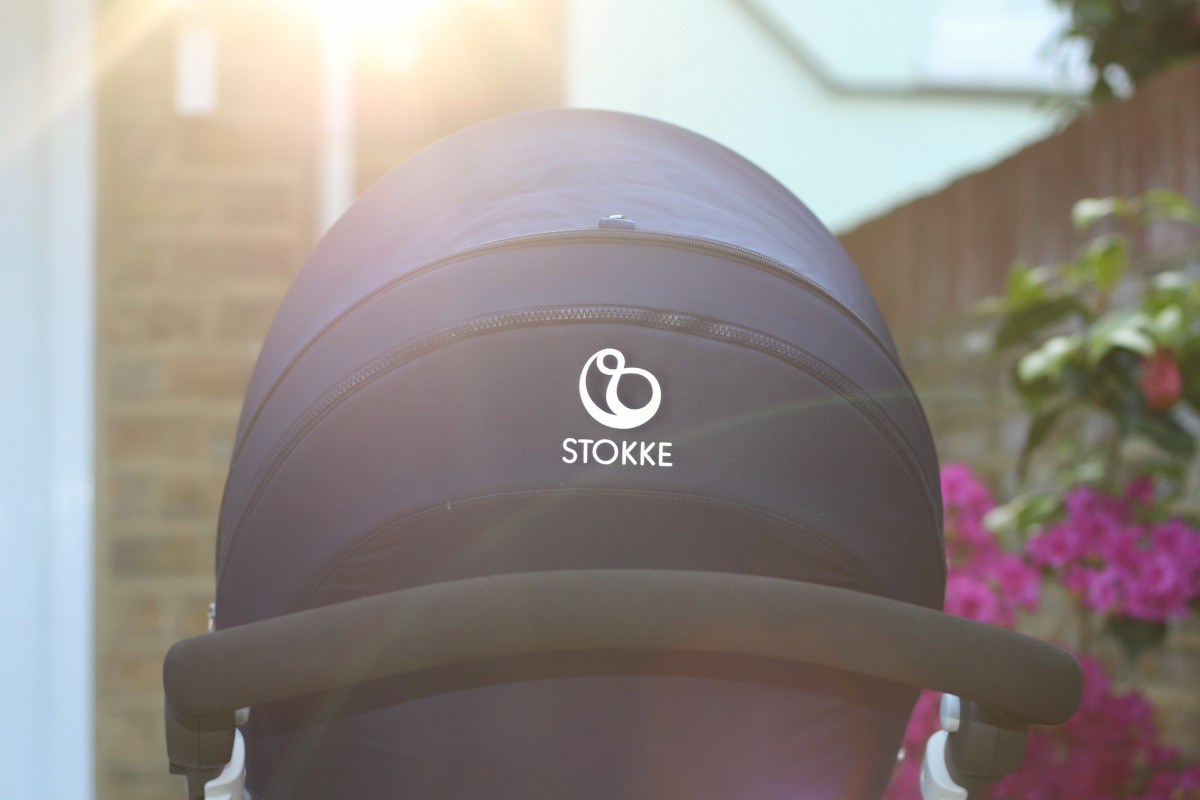 The hood of the Stokke Trailz