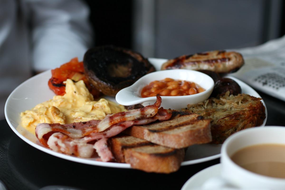 Delicious breakfast at Gaucho in Richmond