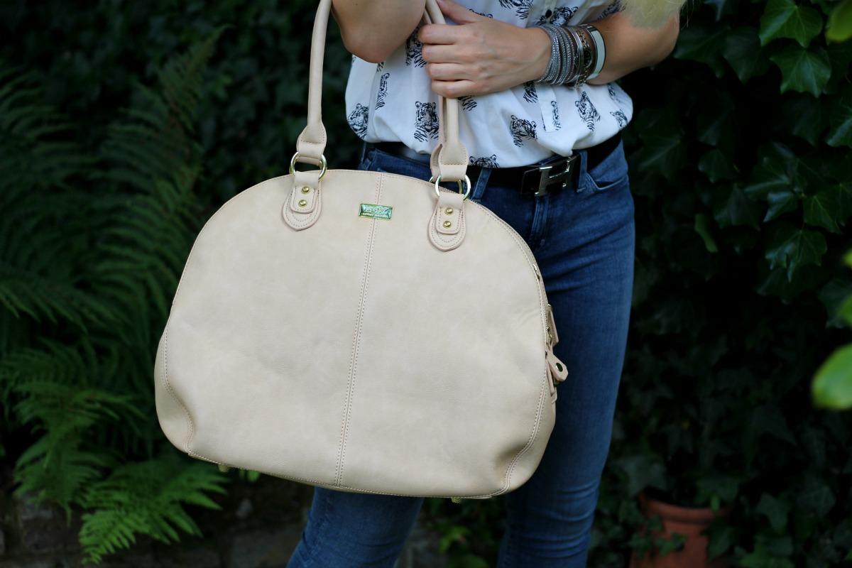 Isoki Madame Polly designer changing bag
