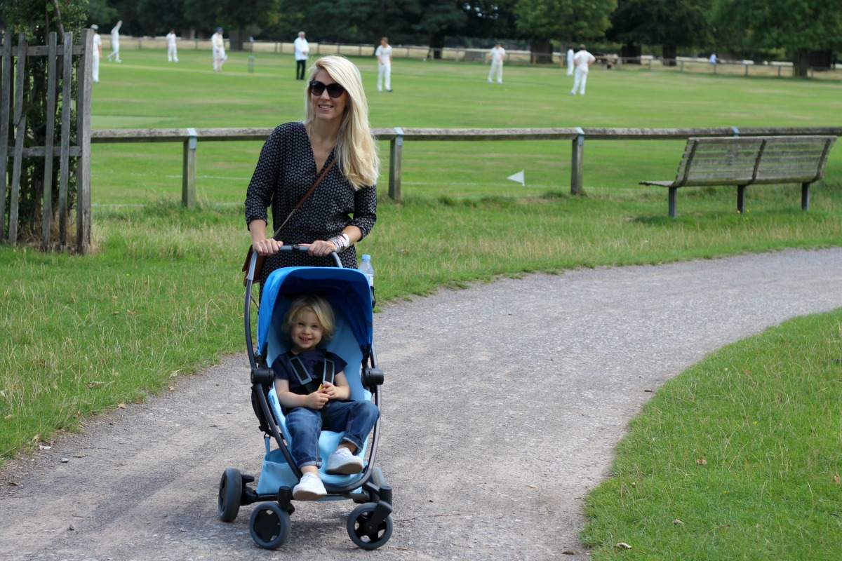 Out and about with Quinny Zapp Flex