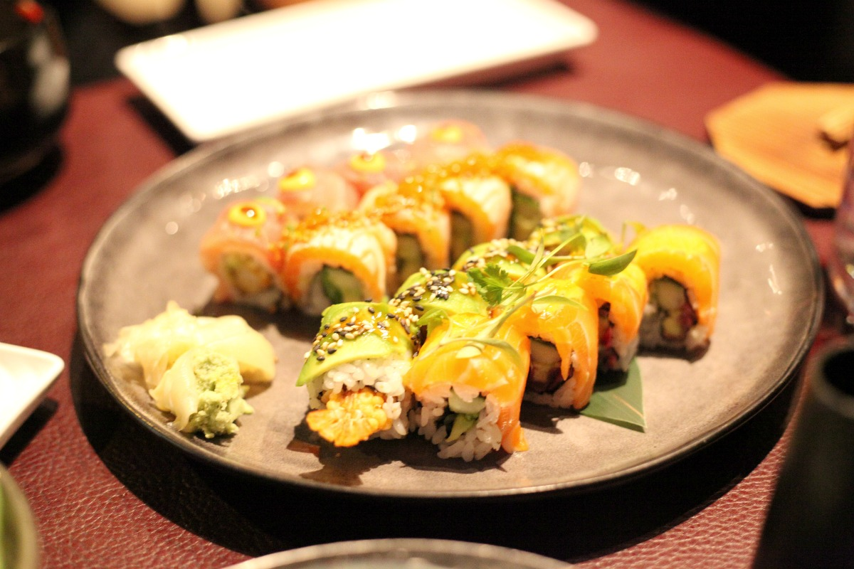 The mini Maki Maki menu at Sticks 'n' Sushi Wimbledon