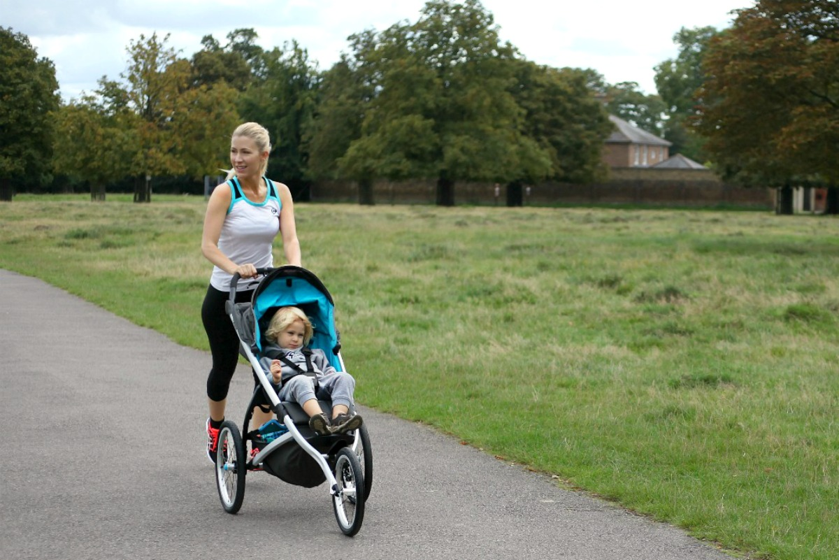 HOW TO STAY FIT AND HEALTHY AS A PARENT. RUNNING WITH THE THULE GLIDE.
