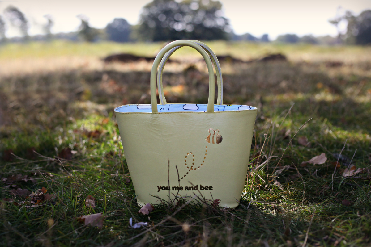 Yellow children's handbag from You Me and Bee
