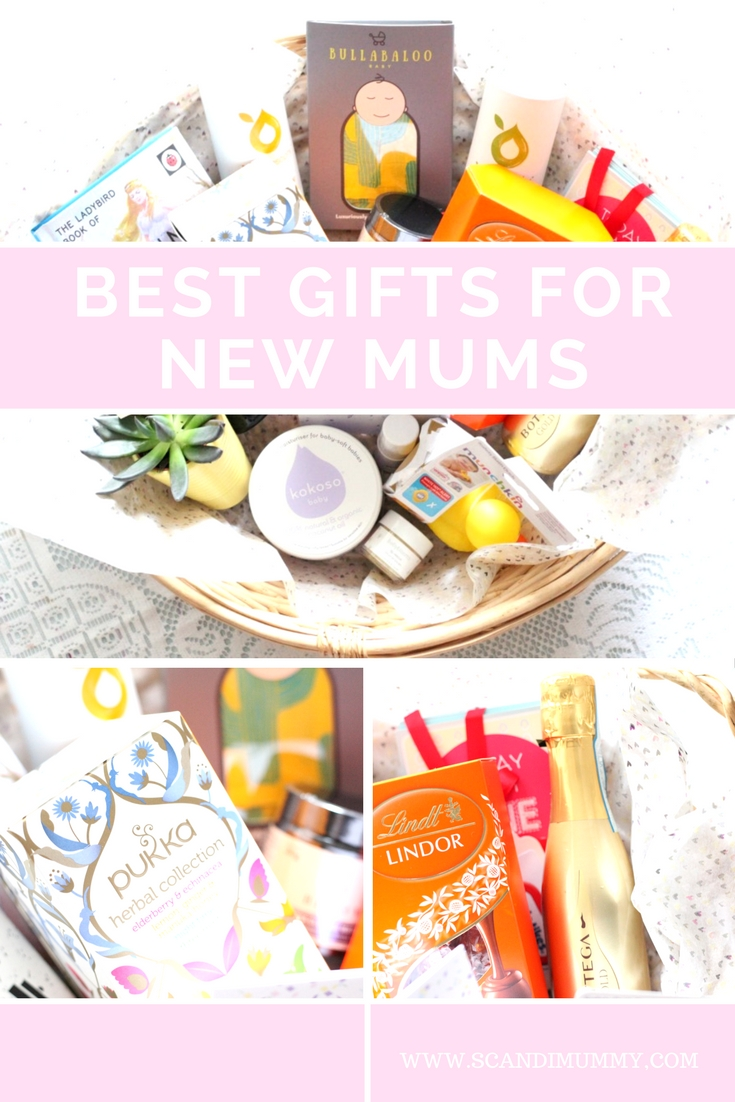 Some ideas for the best gifts for new mums on scandimummy.com