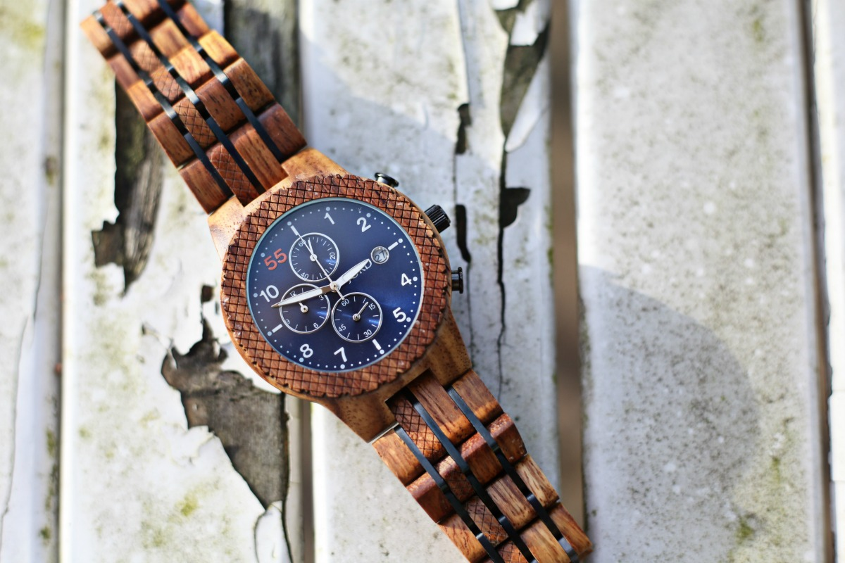 Conway Kosso & Midnight Blue from JORD Wood Watches