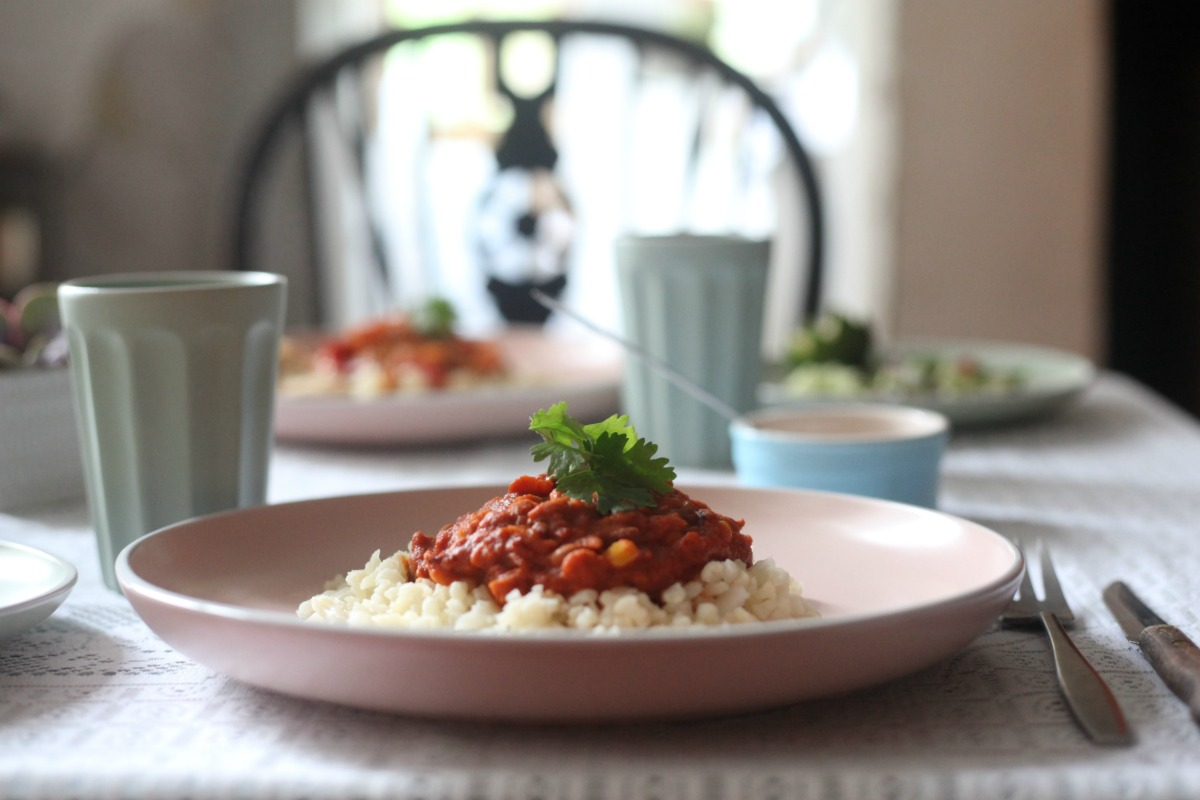 3 Bean Chilli ready meal from Goodlife