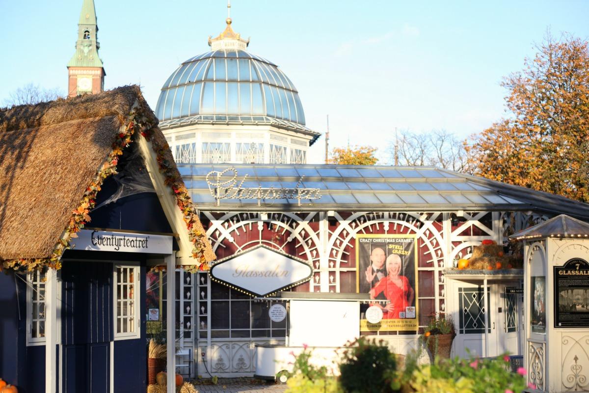 Glassalen theatre in Tivoli Gardens, Copenhagen, Denmark