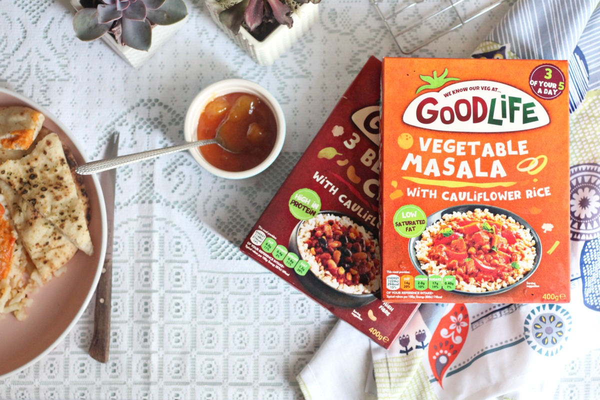 New ready meals from Goodlife