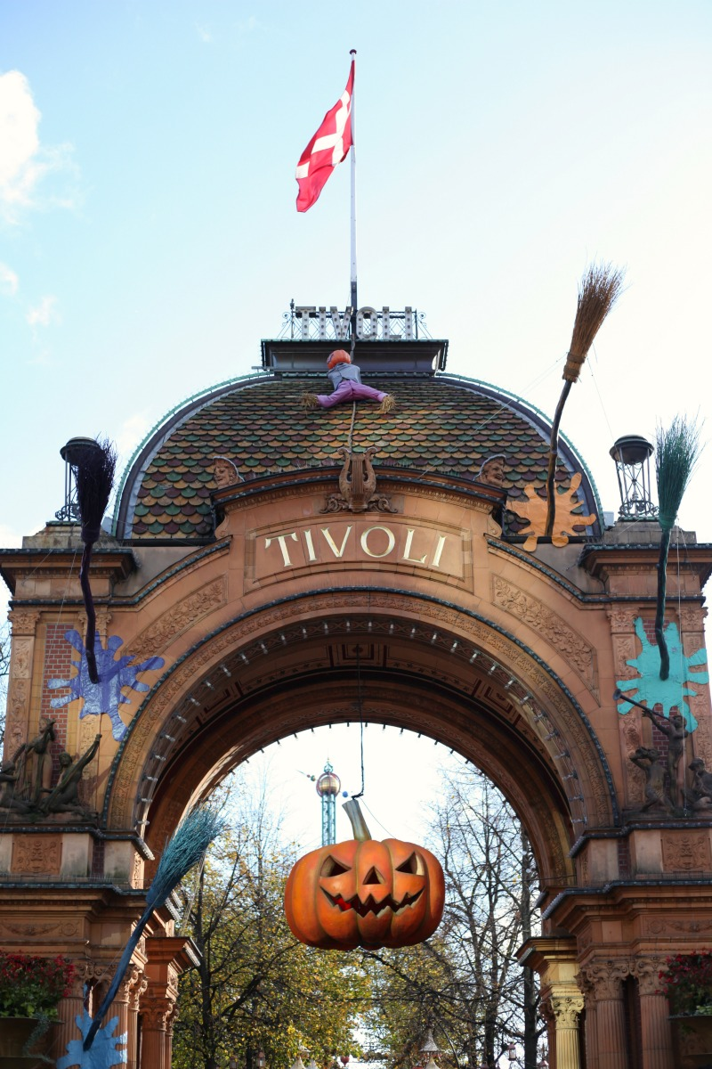 Halloween in Tivoli Gardens, Copenhagen, Denmark