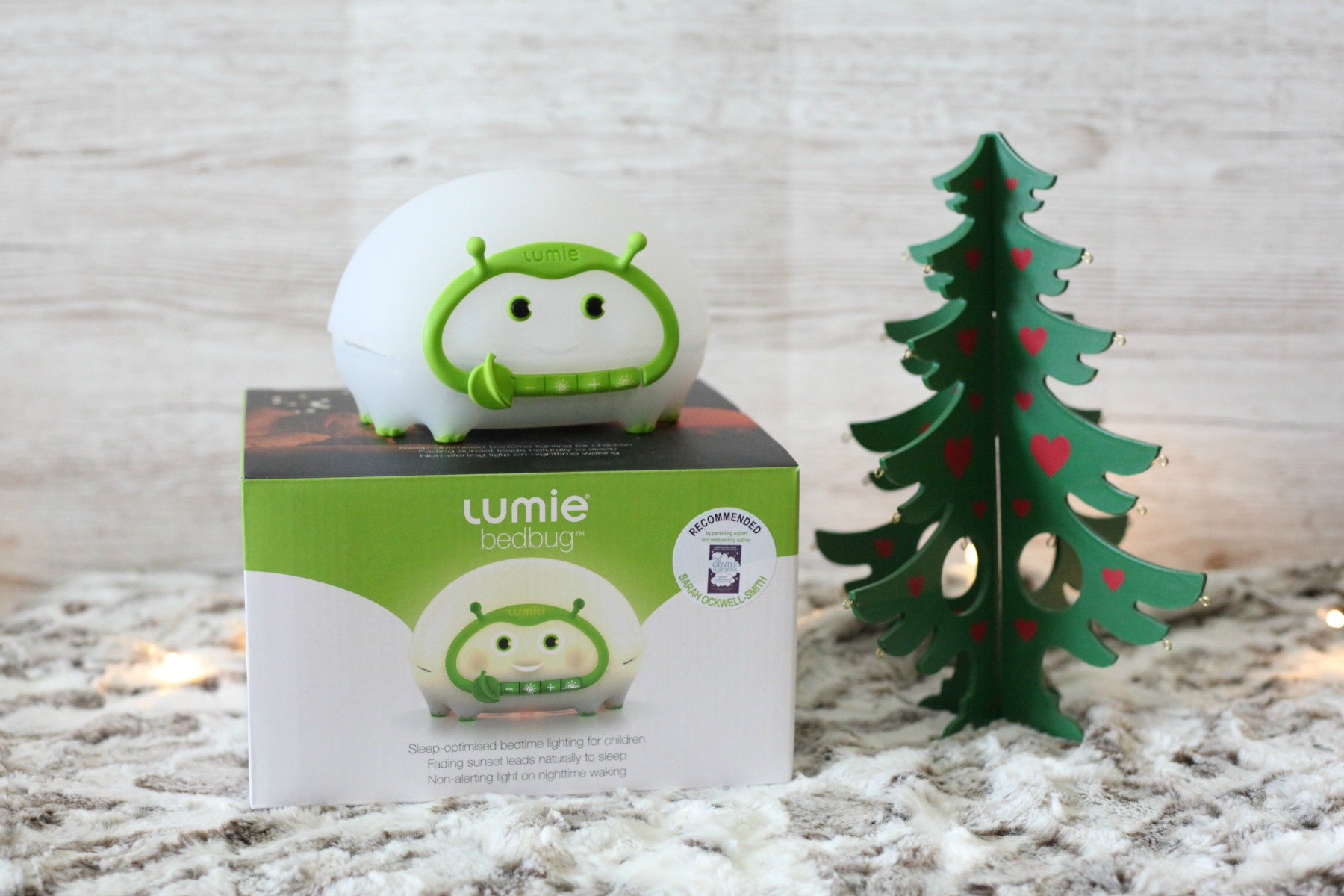 Stuck for toddler Christmas gift ideas? The Lumie Bedbug is a great present.