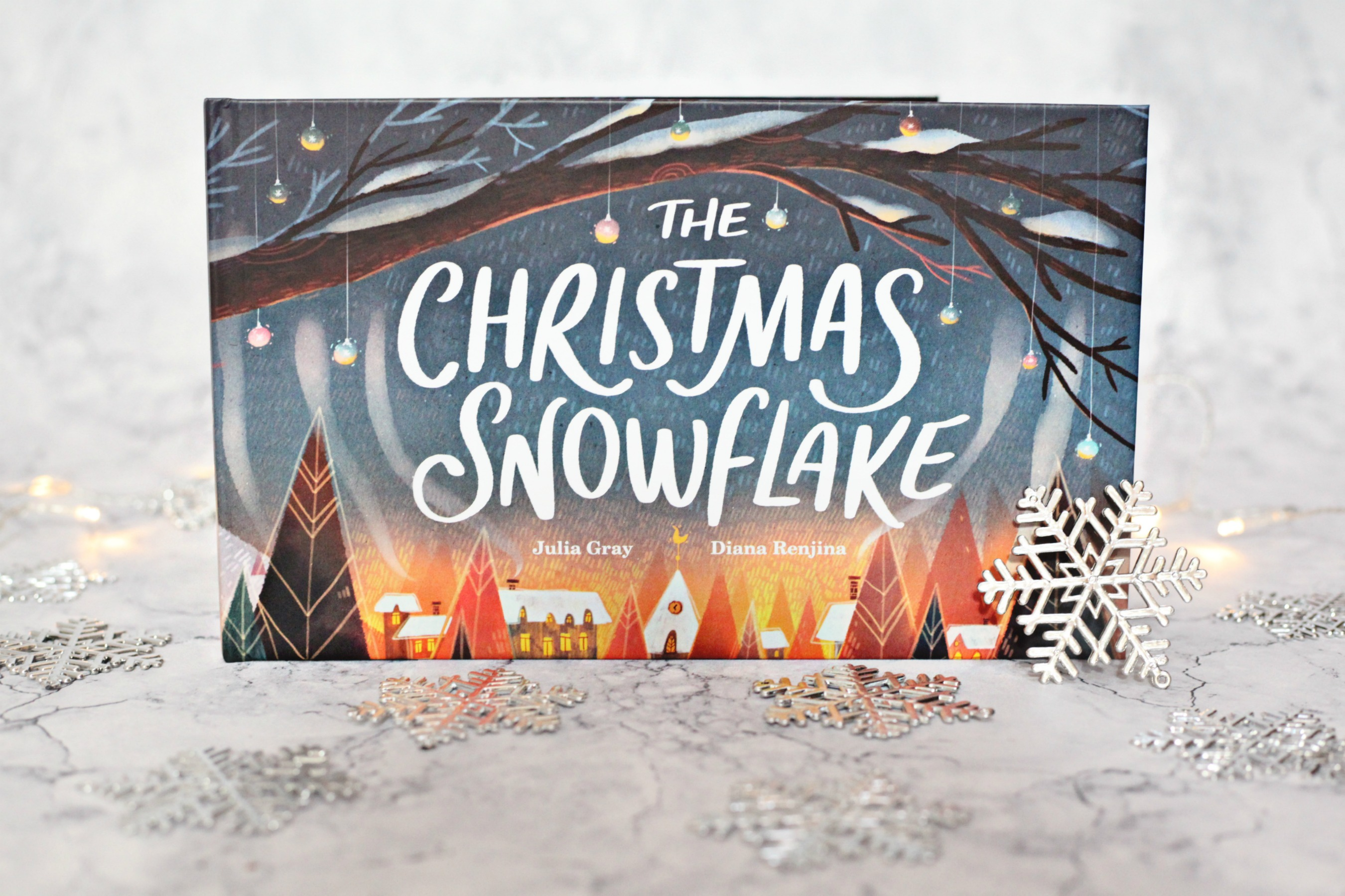 Win your own copy of The Christmas Snowflake