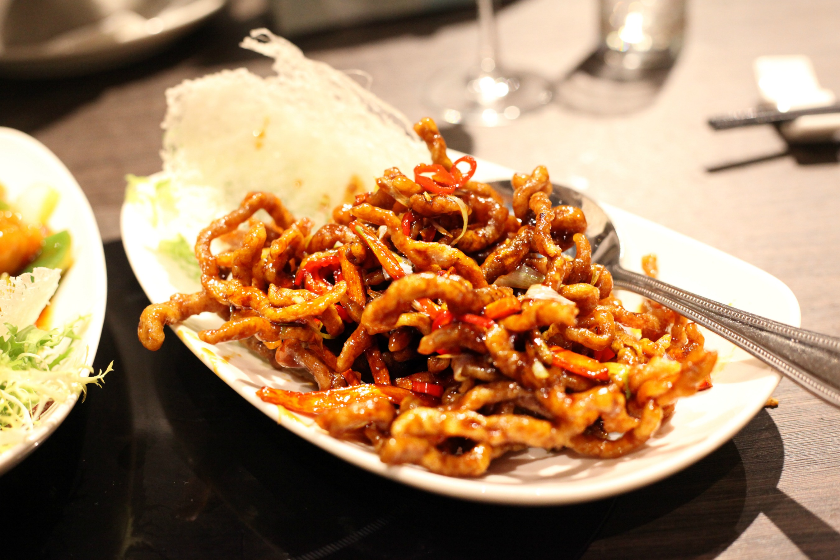 Crispy beef at Golden Dragon