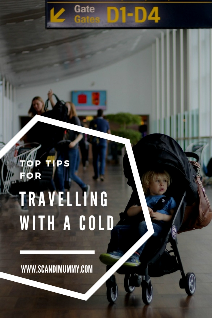 Top tips for travelling with a cold.