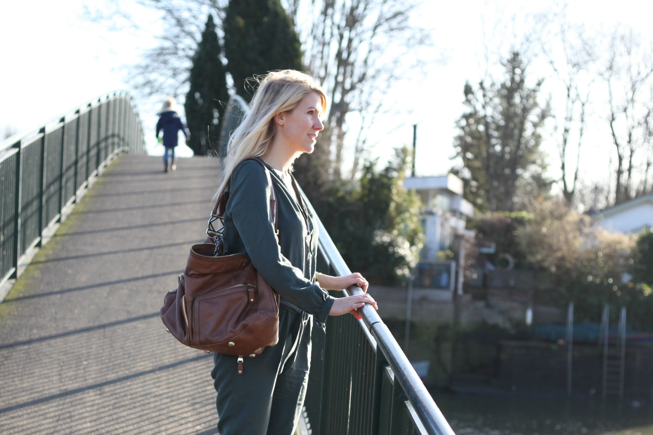 Green Verdon jumpsuit from sustainable fashion brand VILDNIS