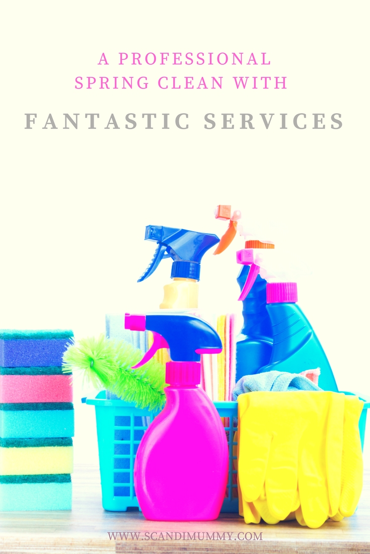 I hate having to prioritise cleaning over time with my family, so the offer of a spring clean with Fantastic Services couldn't have come at a better time.