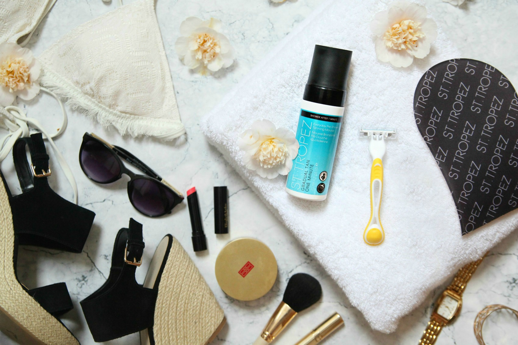 Gradual Tan One Minute Pre-Shower Mousse from St. Tropez