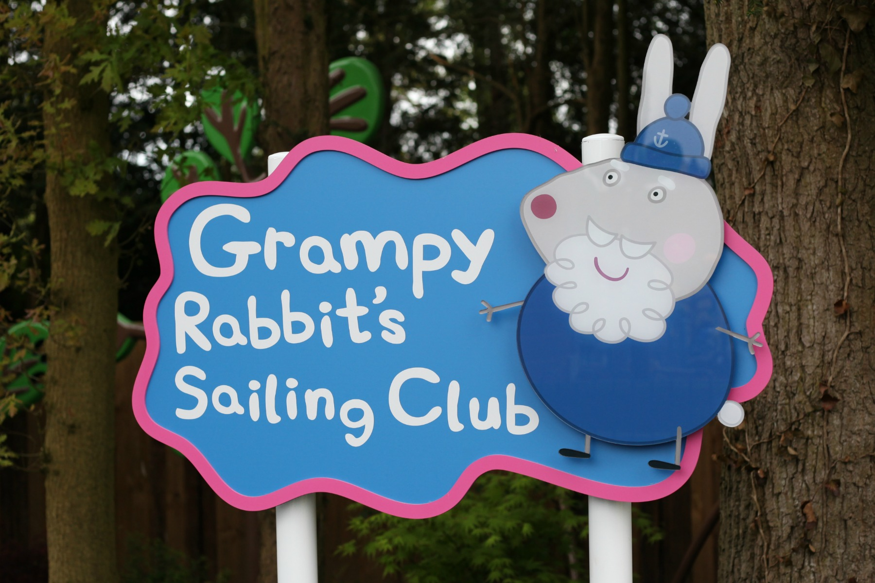 Grampy Rabbit's Sailing Club at Peppa Pig World